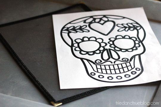 Dia De Los Muertos Free Printables Dia de, Free printable and - copy dia de los muertos mask coloring pages