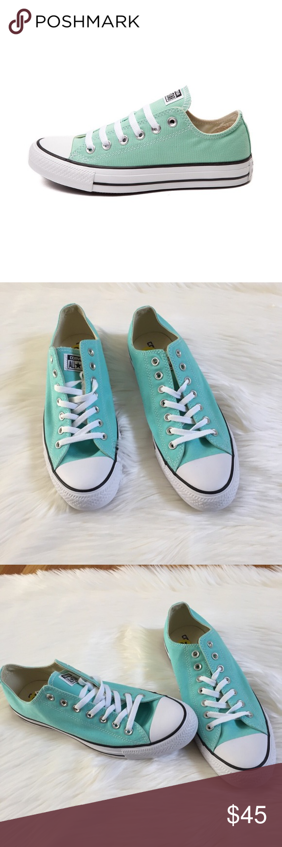 0a25caaf725c Chuck Taylor All Star Mint Green Converse Sneakers Chuck Taylor All Star  Mint Green Converse Sneakers New without Box Size Men s  11 Women s  13  Converse ...