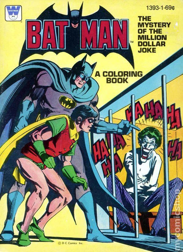 Batman Colouring Book