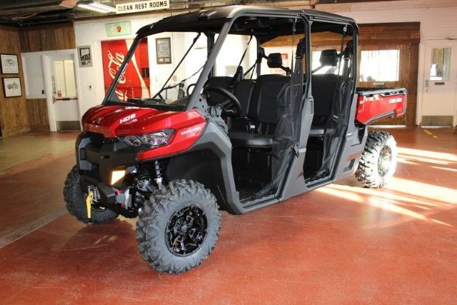 2017 Can Am Defender Max Xt Hd8 Side By Side Intense Red For Sale In New London Ct Can Am New London Connecticut Atv