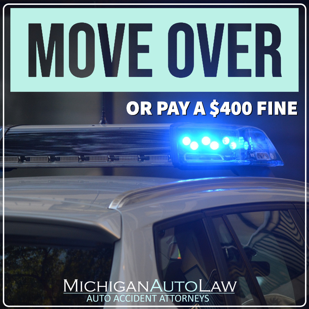 Move Over When You See Police Fire Tow Or Emergency