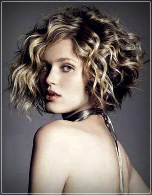 kurze frisuren für dickes lockiges haar | pelo rizado