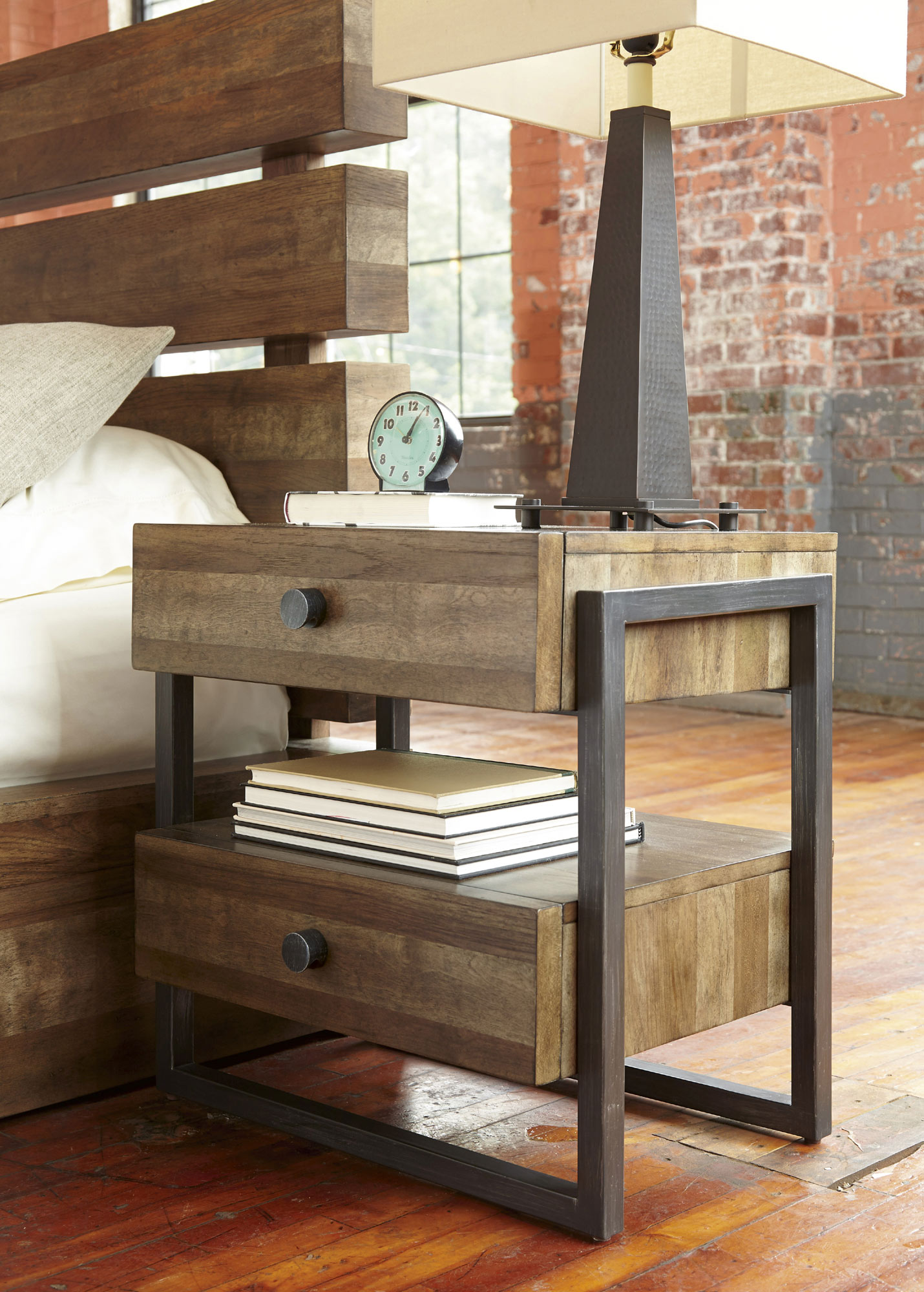 Epicenters 2 Drawer Williamsburg Nightstand | A.R.T. Furniture | Home  Gallery Stores
