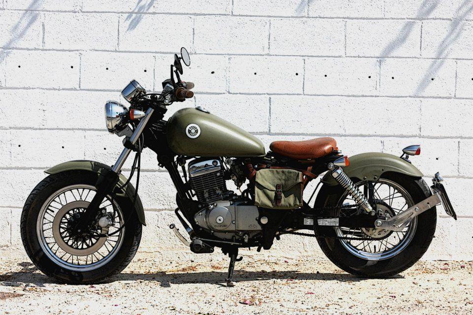 Wheels garage suzuki marauder 125 pocket bobber bicis for Garage suzuki caen
