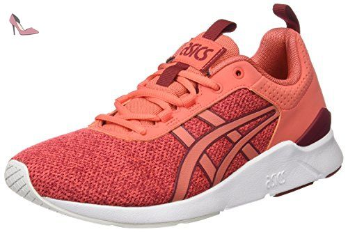 Shaw Runner - Sneakers Basses - Mixte Adulte - Rouge (Burgundy) - 38 EUAsics fjGzx