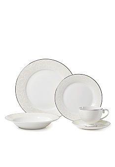 Mikasa Parchment Modern dinnerware by Mikasa. Pretty! 75%off