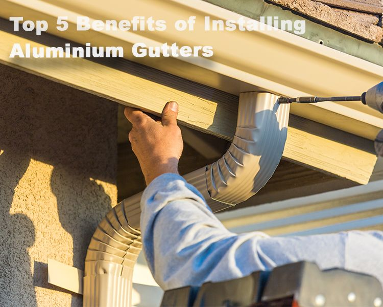 Top 5 Benefits Of Installing Aluminium Gutters Trust Jp Roofing Gutters To Do An Excellent Job Call Us Today At 281 463 9077 To Schedule A Free Estimate