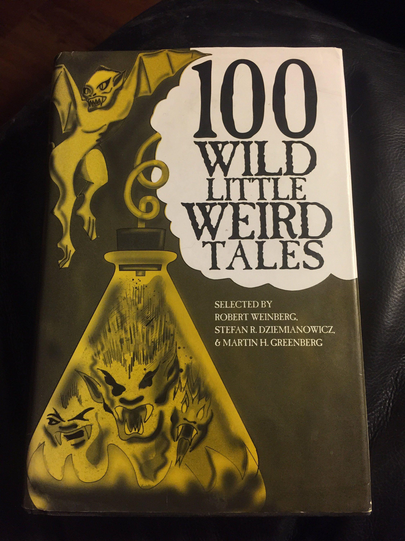 Vintage 1994 100 Wild Little Weird Tales Hardcover Book Horror Etsy Hp Lovecraft Books Lovecraft Weird