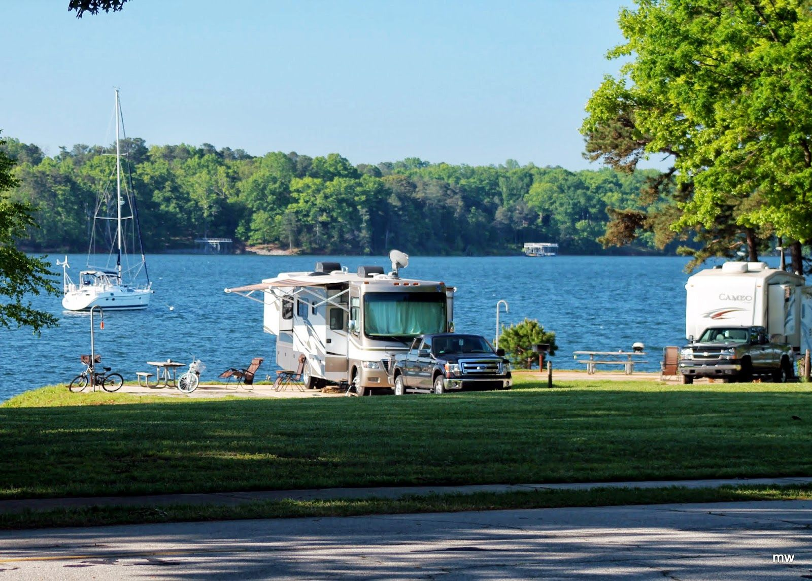 Old Federal Campground Army Corps Of Engineers RV Sites With Hookups