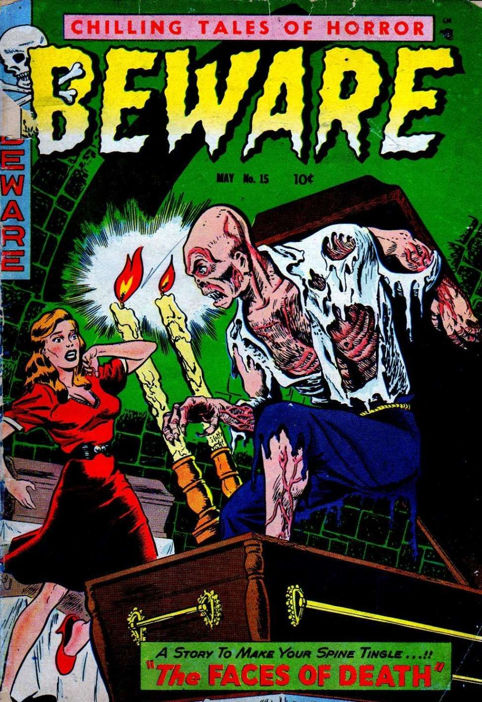 Comic Book Cover For Beware 15 [3]