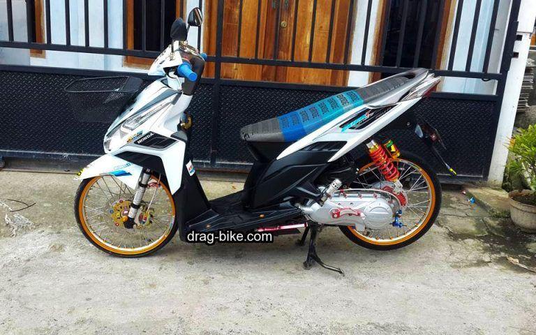 52 Modifikasi Vario 150 Jari Jari Esp Techno 125 Cbs Dan 110 Street Racing Drag Bike Com Honda Gaya Jalanan