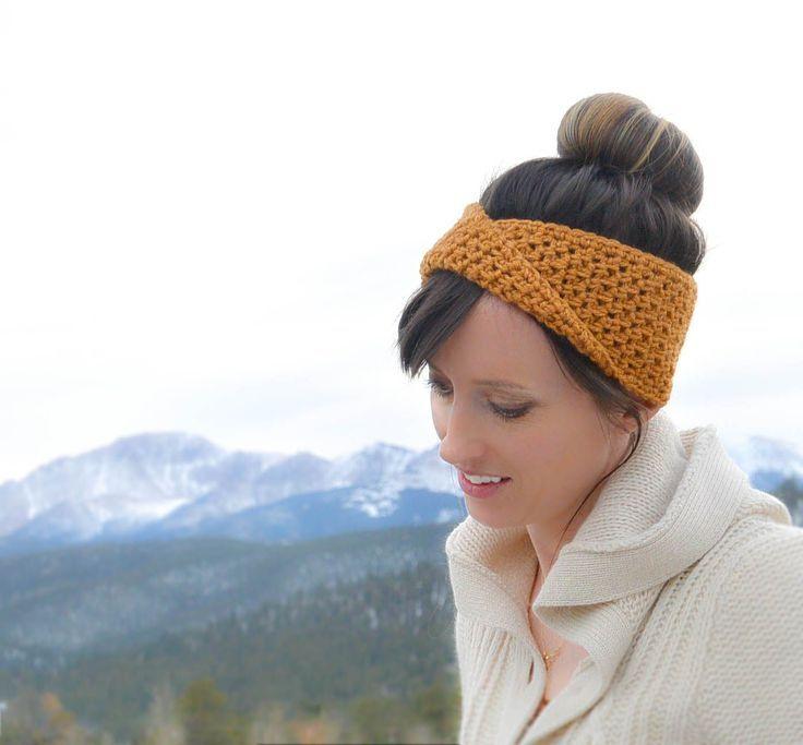 Free Crochet Super Easy Stretchy Headband Pattern. I Have
