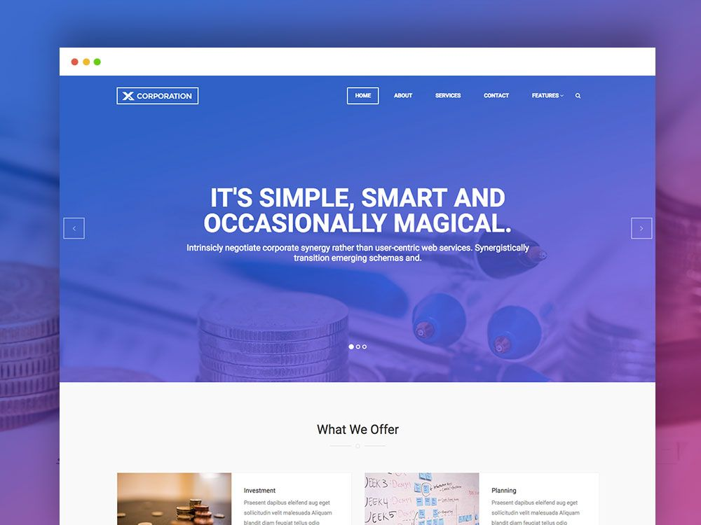 Free Bootstrap Html Template For Business Firm And Corporate Agency Free Website Templates Free Html Templates Responsive Website Template
