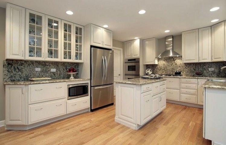 Countertops And Backsplash Ideas Part - 37: Kitchen Backsplash Ideas For White Cabinets Black Countertops