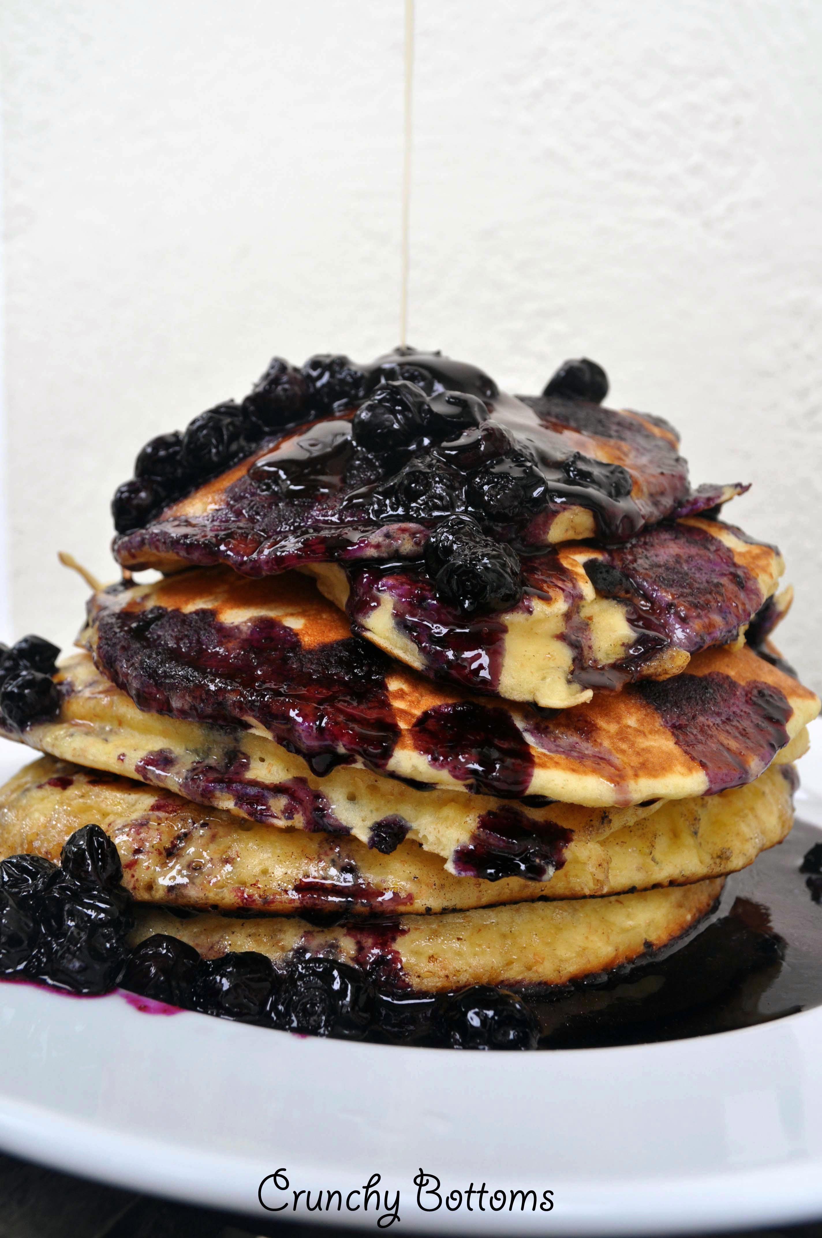 berryblue Crepe cake, Blueberry pancakes, Recipes