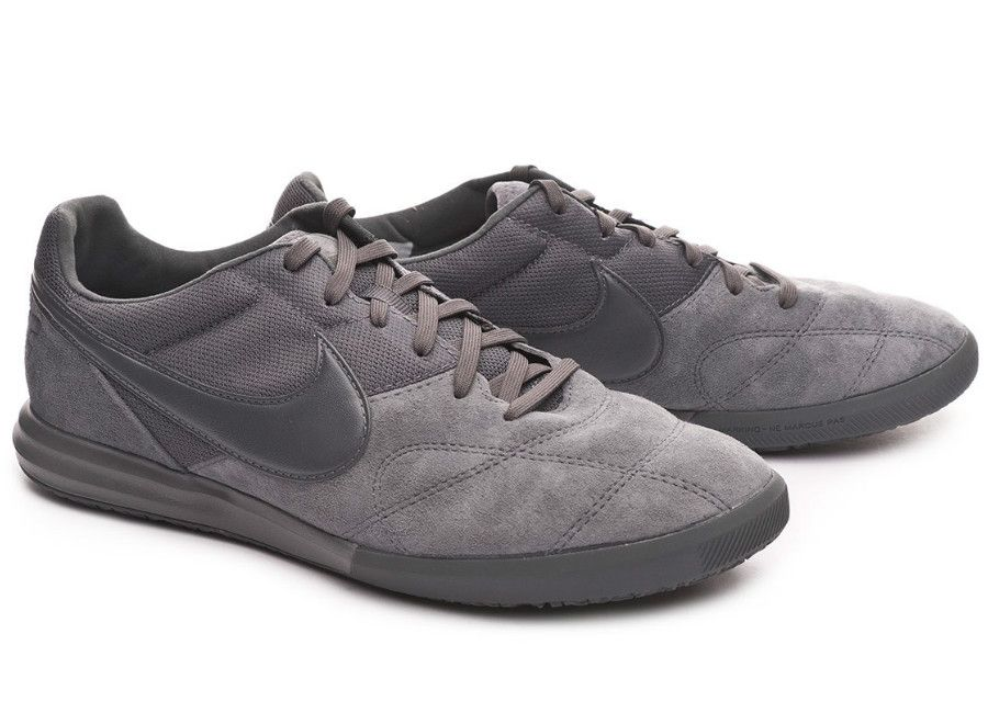 ae7c87a57 futsal  nikefootball Nike Tiempo Premier II Sala IC - Dark Grey ...