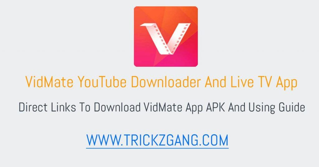 VidMate APK Free Download Latest Version 4.3017 (2020