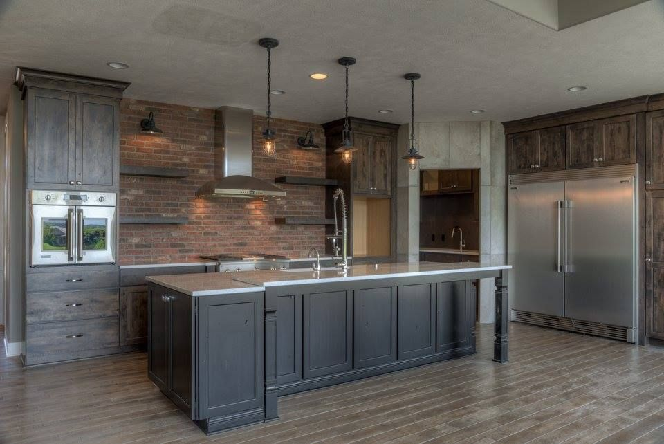 marvellous industrial chic kitchen | Industrial-Chic Kitchen Design | Industrial chic kitchen ...