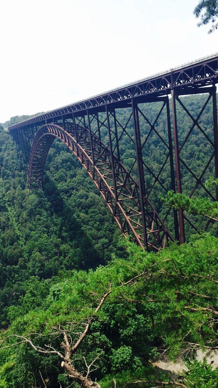 New River Gorge Bridge Wv New River Gorge New River West Virginia
