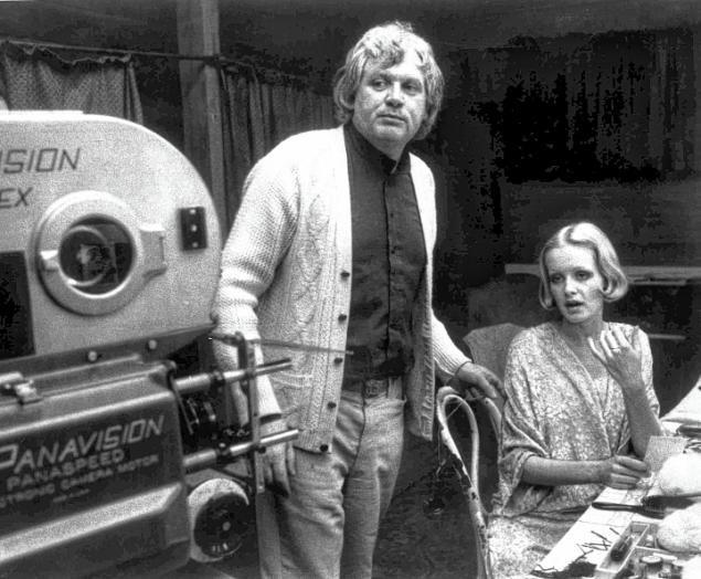 British film director Ken Russell with British model Twiggy