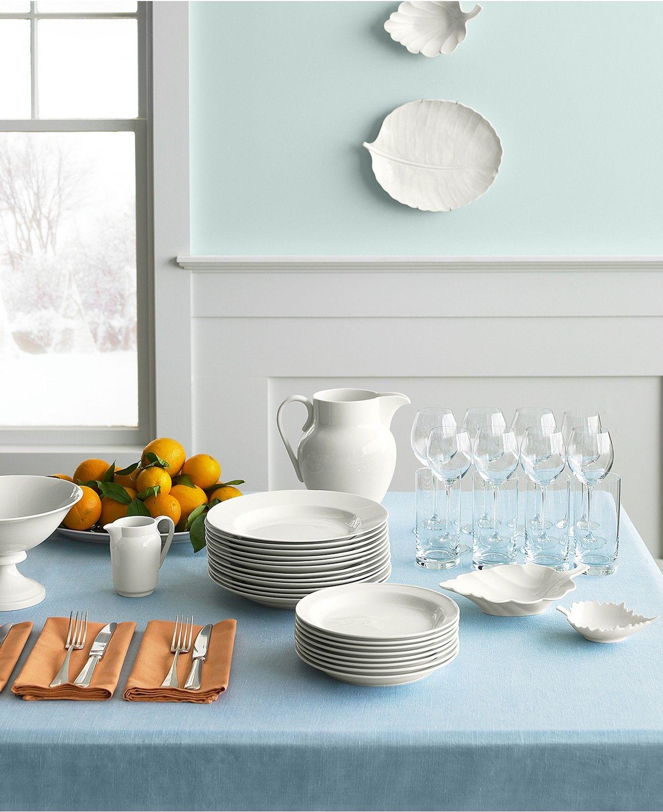 Martha Stewart Collection Kensington Whiteware Collection. Casual DinnerwareWhite ... & Martha Stewart Collection Kensington Whiteware Collection   Martha ...