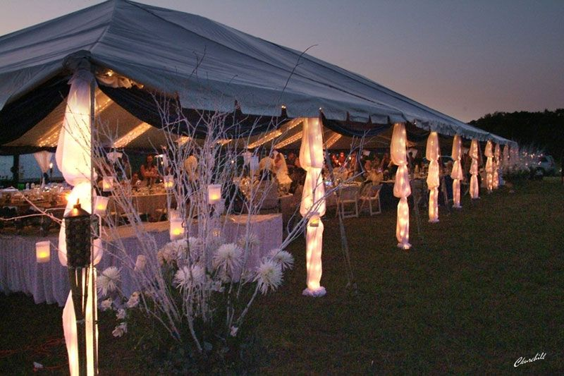 Outdoor Christmas Party Ideas Part - 33: Love The Lights On This Tent, Very Creative! Graduation IdeasGraduation  PartiesParty LightingLighting IdeasTent DecorationsGoogle SearchCali OutdoorChristmas ...
