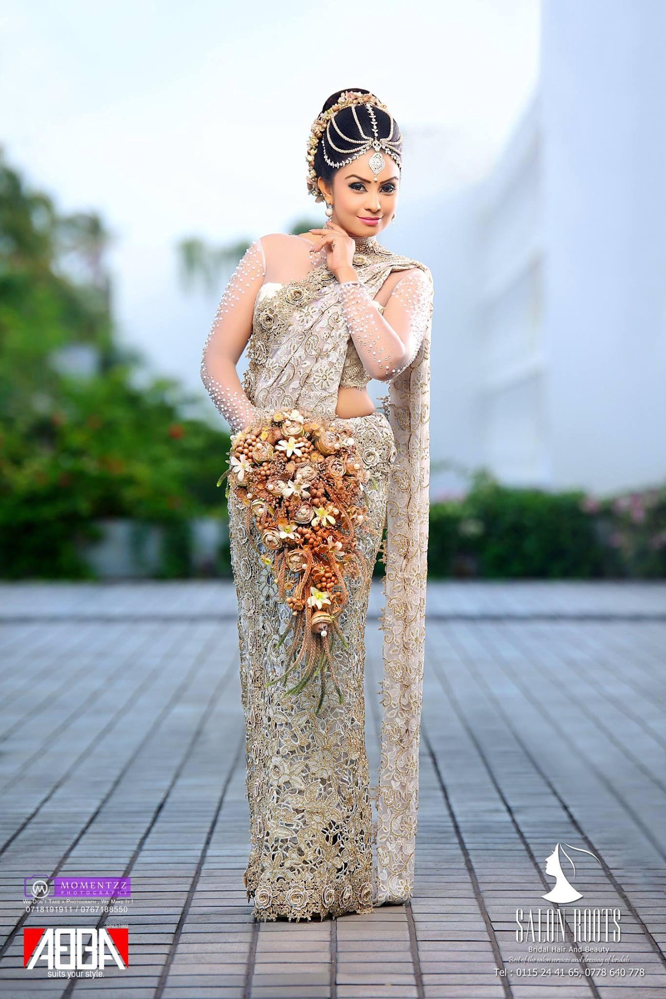 Dressed By Rasika Lakmali Salon Roots Bridal Wear Bridal Dresses Indian Bridal