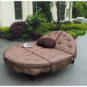 Mainstays Sand Dune Orbit Double Lounger O so comfortable ... on Dune Outdoor Living id=59299