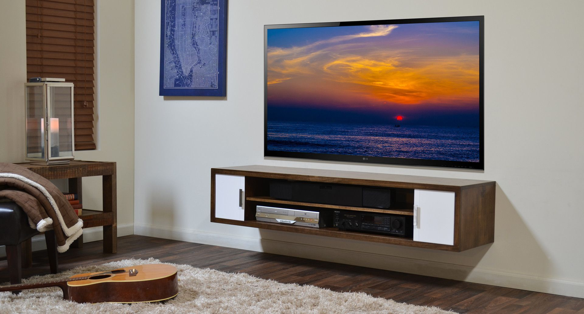 floating tv media stand terra mar clove ideas for the house tv dvd swivel stand