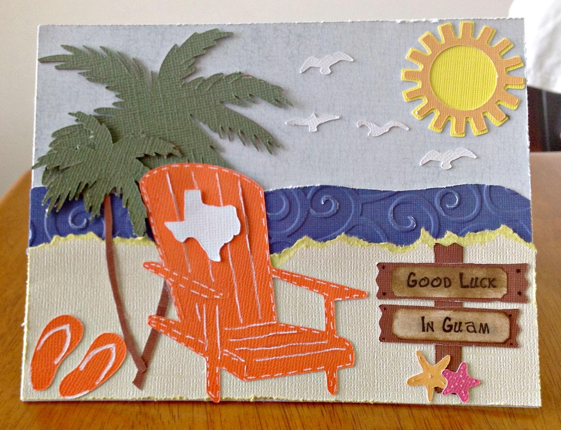 How to scrapbook good - Good Luck In Guam Scrapbook Com