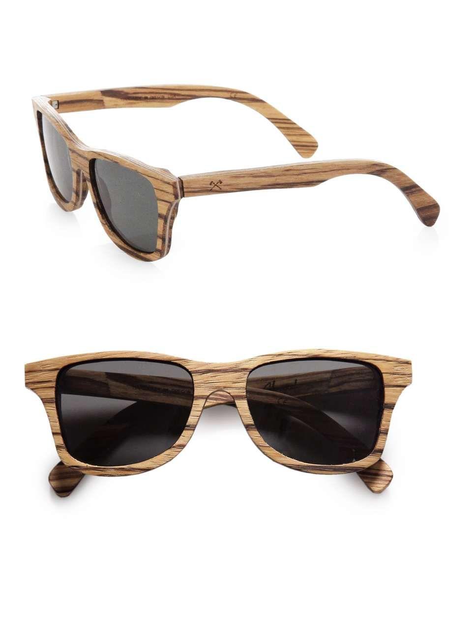 d6ca0ff7b83e9 Shwood Canby Wood Wayfarer Sunglasses