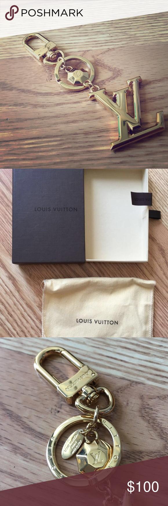 9a6715cb74d0 Louis Vuitton FACETTES BAG CHARM   KEY HOLDER New