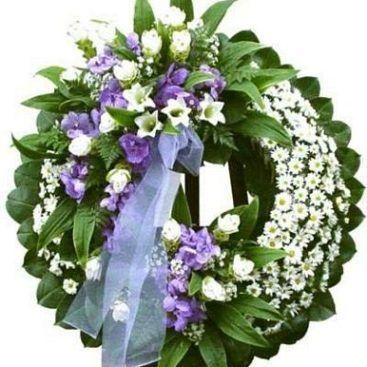 Envio de corona funeraria paz