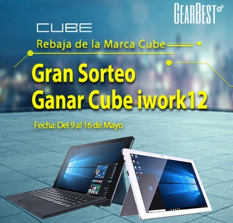 Tablets Cube en promoción hasta el 16 de mayo, con importantes descuentos sobre el precio habitual. Varios modelos disponibles para elegir el nuestro.