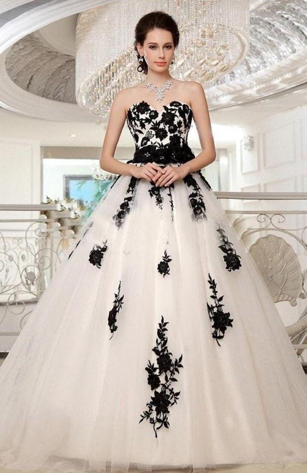 Los Más Bellos Vestidos De Quinceañera Negros Vestidos De
