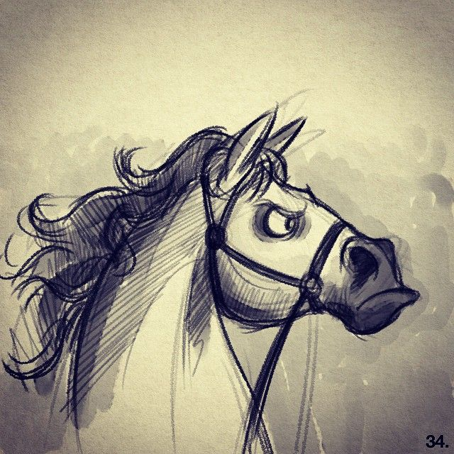 Salih gonenli 34 of 50 maximus tangled disney horse