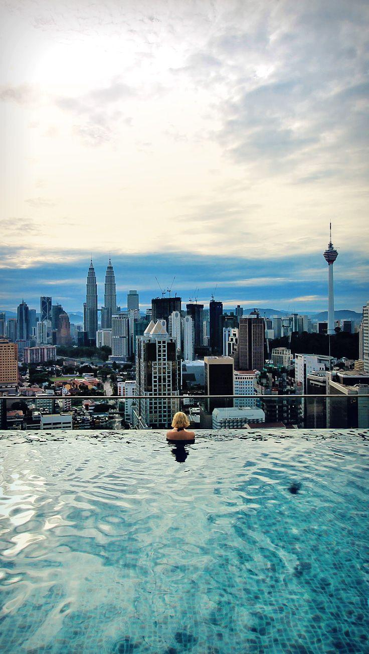Skyline Von Kuala Lumpur Mit Bildern Weltreise Reisen