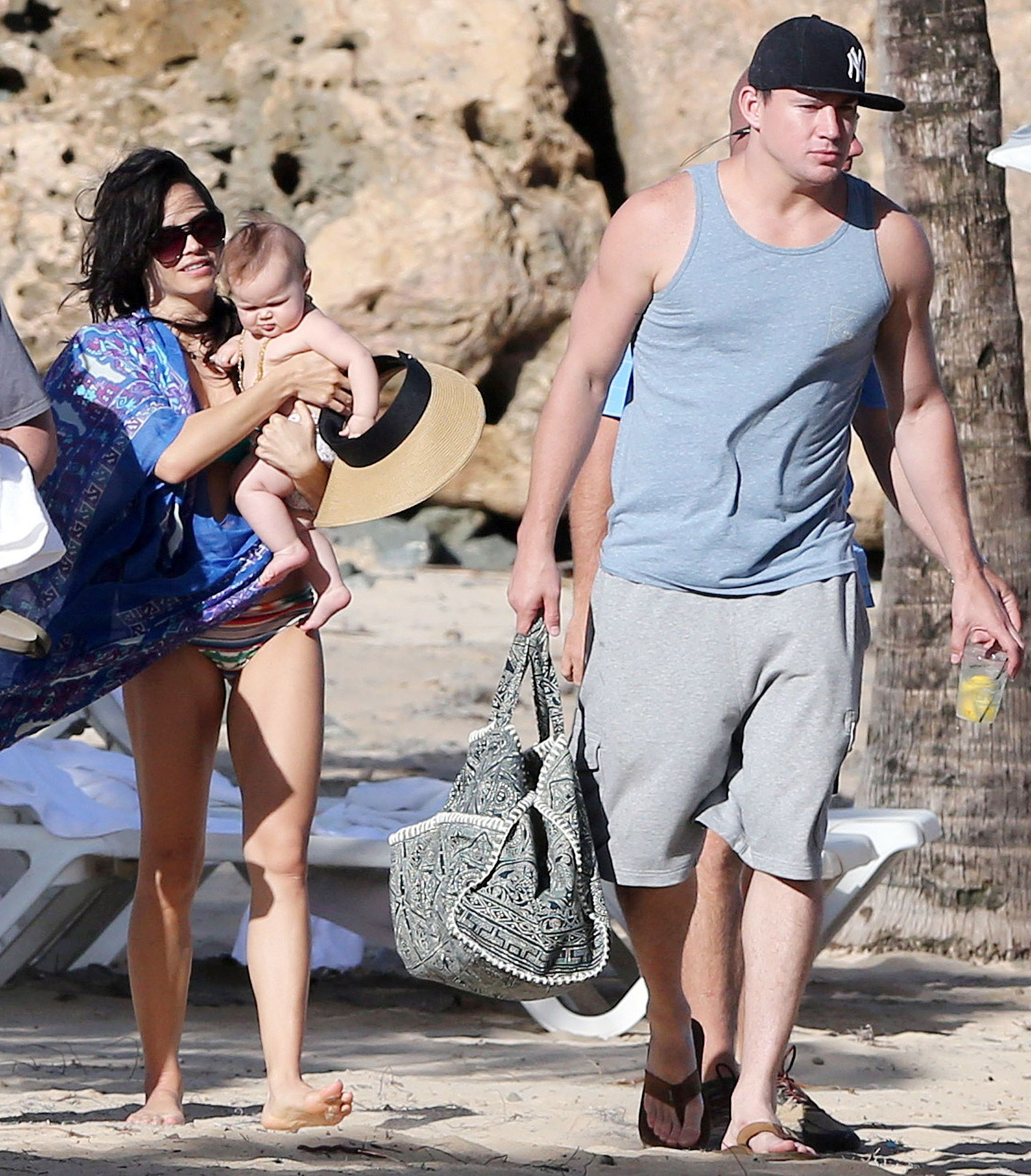 Channing Tatum Baby Channing, Jenna Hit th...