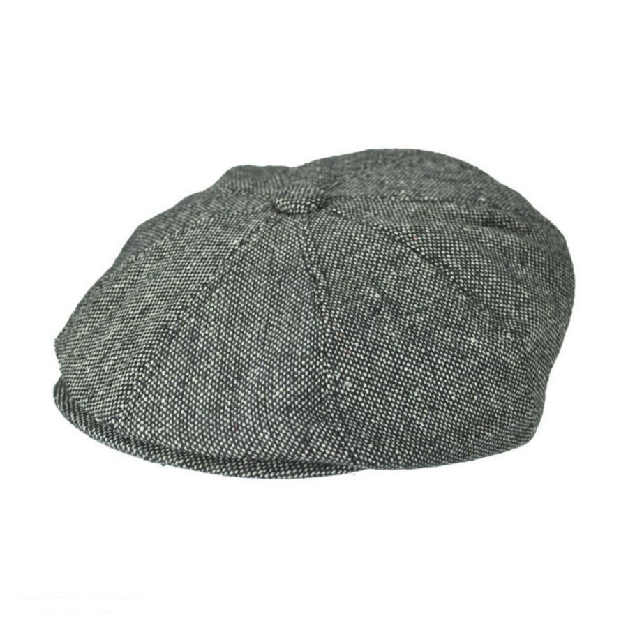 Black Jaxon /& James Marl Tweed Newsboy Cap