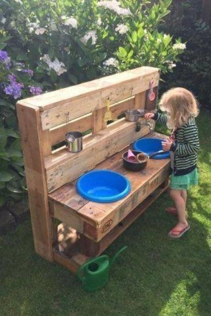 Garden landscape play corner for children, good ideas if ...