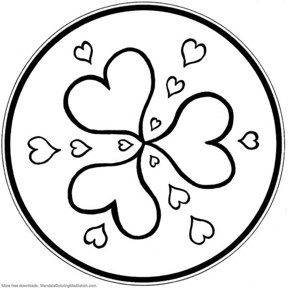 heart peace sign coloring pages - photo#26