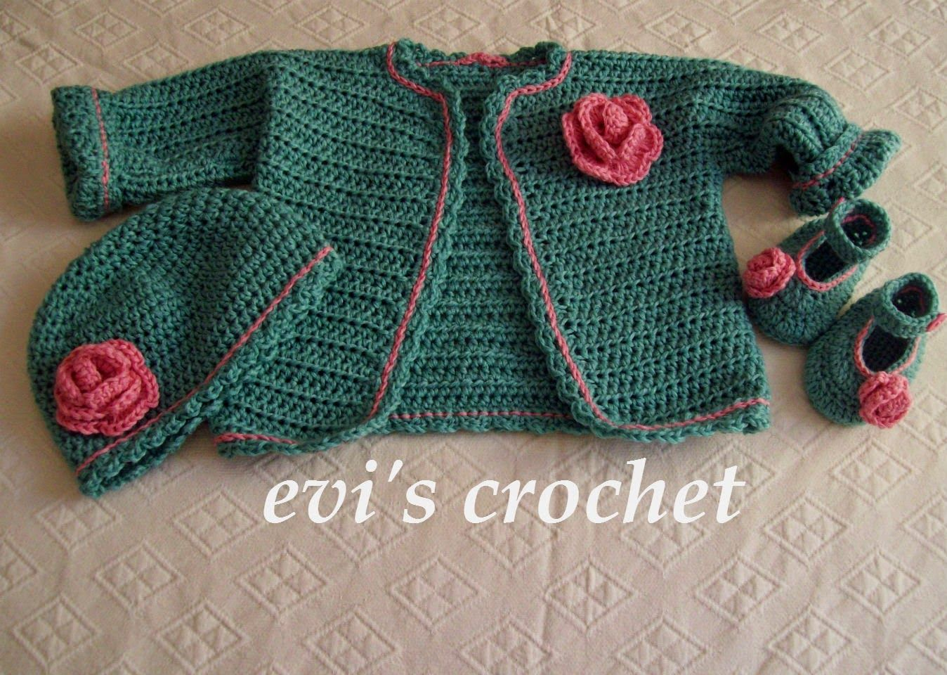 Evi's crochet: παπουτσακια