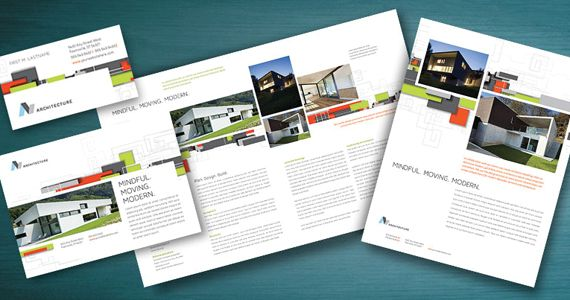 Modern Architectural Design Marketing | Graphic Design Templates