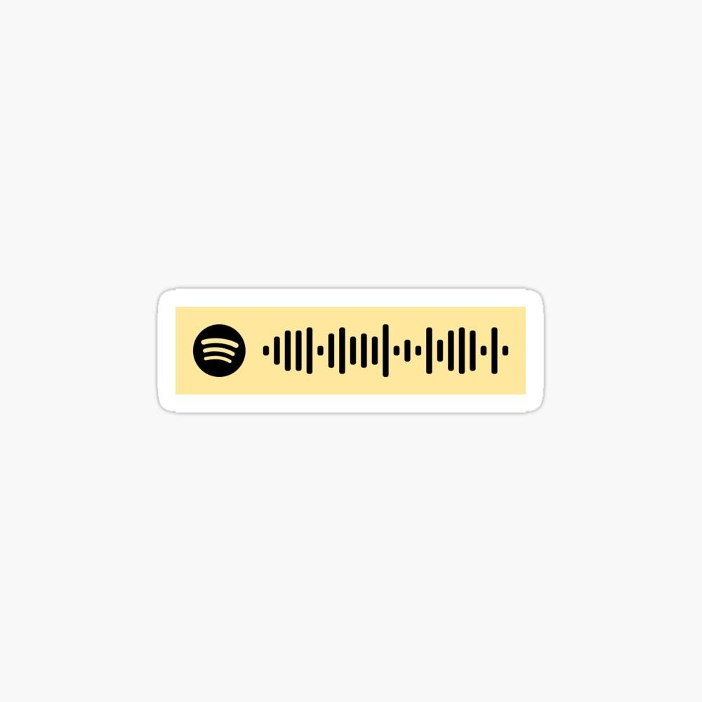 Hey there delilah spotify scan code sticker by claysus
