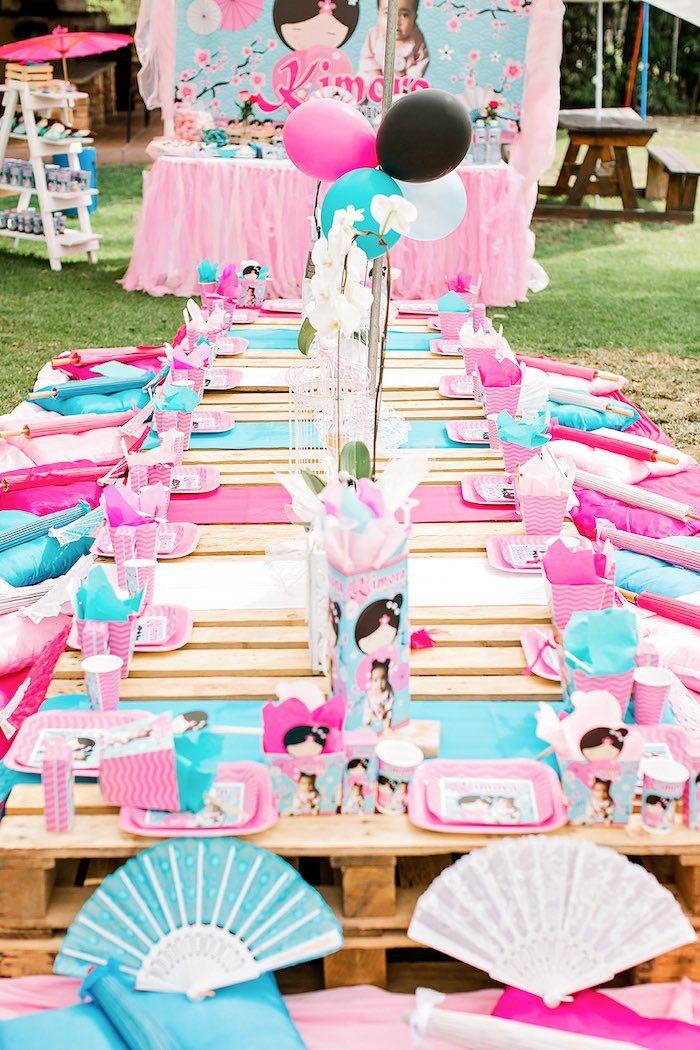 Japanese Garden Picnic Party Japanese Party Garden