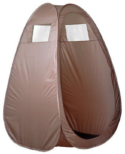 Brown Tanning Booth Pop Up Tent Airbrush Spray Tan Mobile Portable Sunless Beige by Salon Supply  sc 1 st  Pinterest & Brown Tanning Booth Pop Up Tent Airbrush Spray Tan Mobile Portable ...