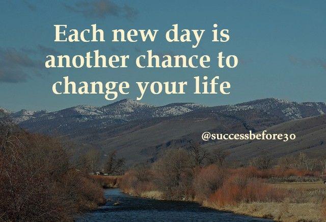 Setiap hari yang baru adalah kesempatan lain untuk mengubah hidup setiap hari yang baru adalah kesempatan lain untuk mengubah hidup anda selamat pagi sahabat entrepreneur malvernweather Image collections