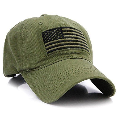 12cf9e7fdb5 Pit Bull US Flag Patch Tactical Style Cotton Trucker Baseball Cap Hat camo  green hat fitted hat millitary hat Army Green  usarmy  army  warrior   vetran ...