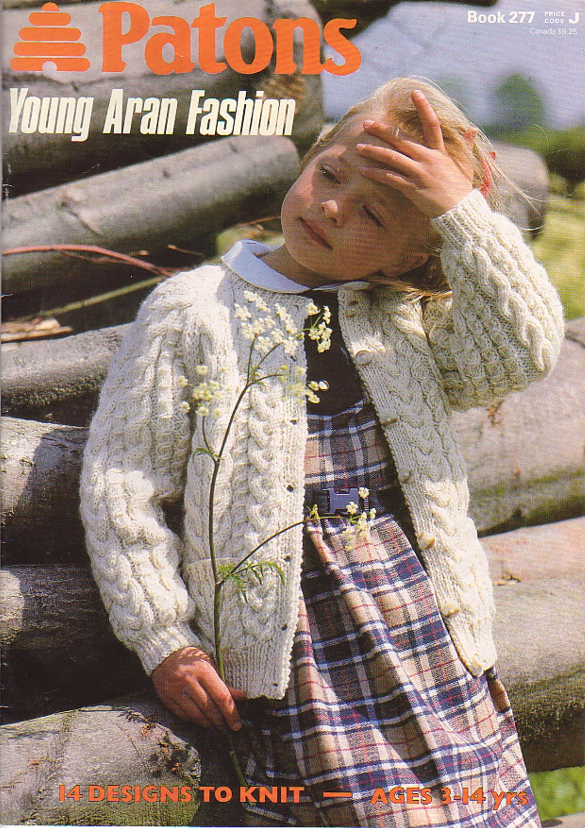 Patons Young Aran Fashion, Book 277 | Knitting Sewing Crochet for ...