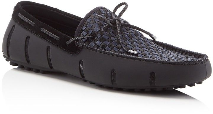 0d3e3de1b65a Swims Woven Braided Lace Loafers